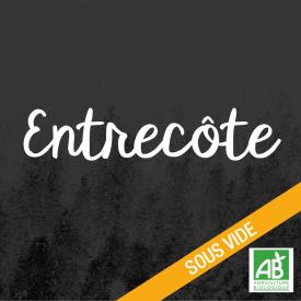 Entrecôte - Boeuf Salers bio