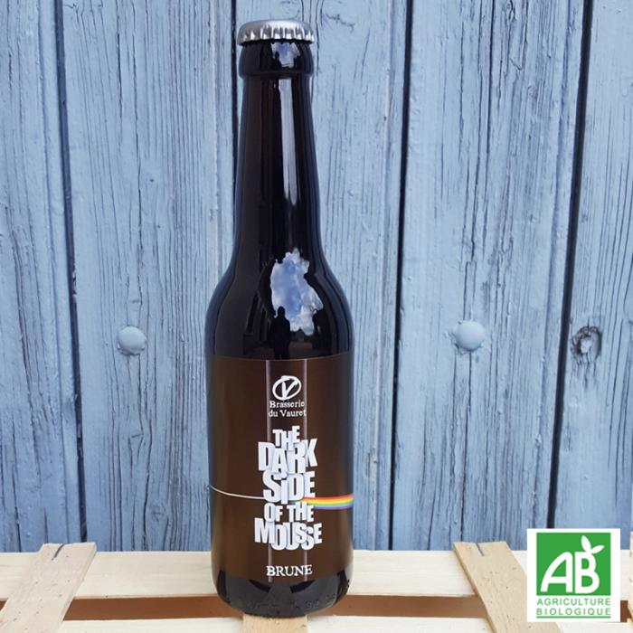 Brasserie du Vauret - Dark Side - bière brune bio