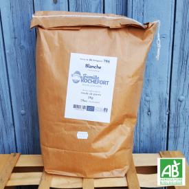 Farine de Blé blanche T65 bio. 5kg