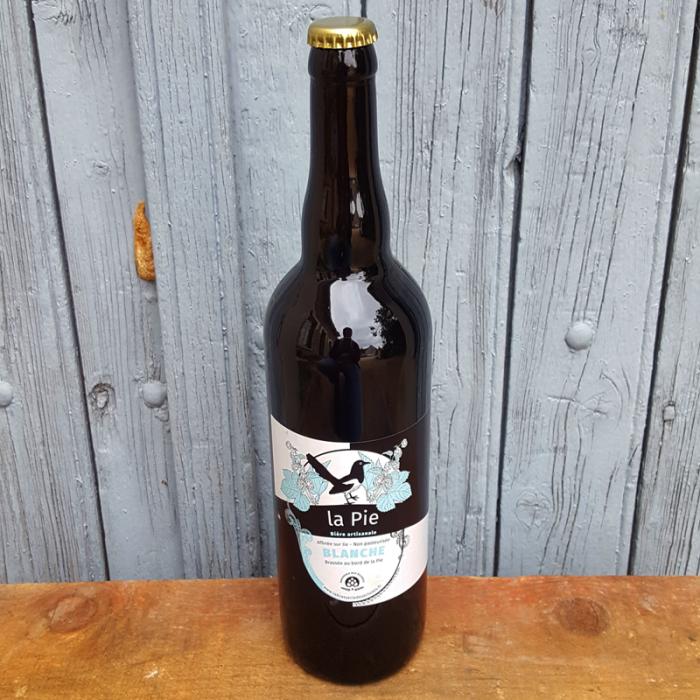 Bière Blanche (75cl) - Brasserie des Écluses