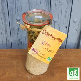 Bocal kit pour risotto aux...