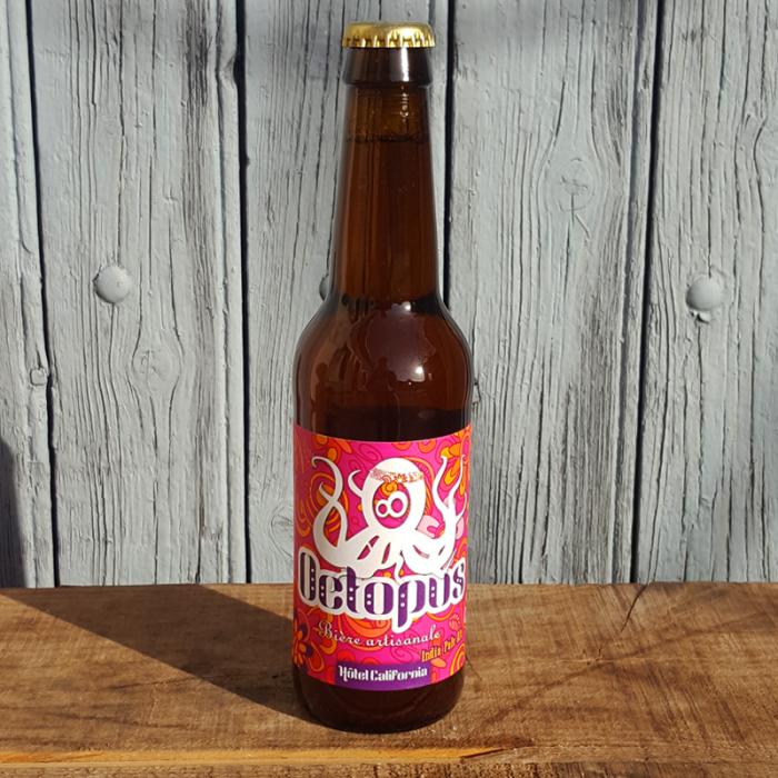 Bière Octopus - IPA - Hotel Californial