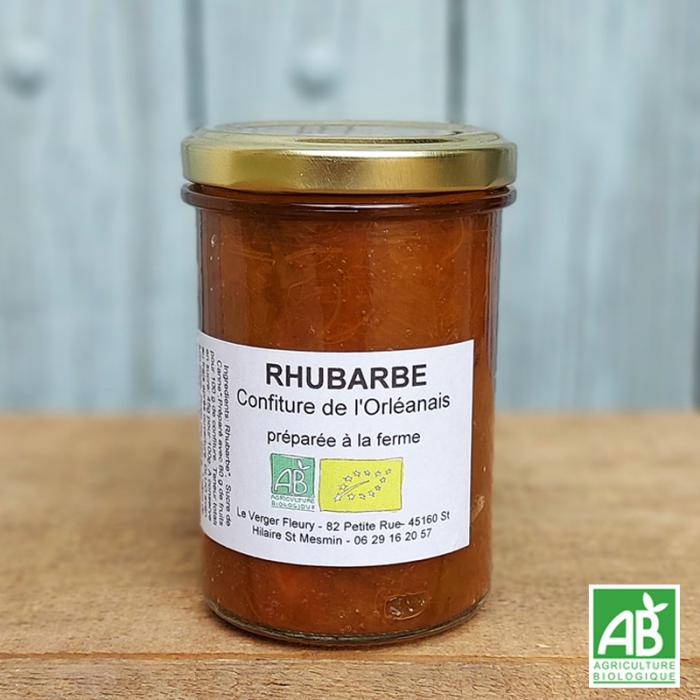 Confiture de Rhubarbe bio