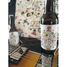 """Bière IPA """"Whole Lotta Hops"""" - Brasserie du Vauret bio"""