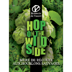 "IPA ""Hops on the Wild Side"" - Brasserie du Vauret bio"