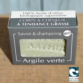 Savon & Shampoing bio à l'argile verte bio