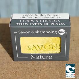Savon & shampoing solide bio nature