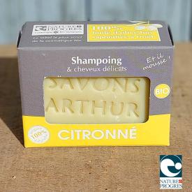 Shampoing bio citronné