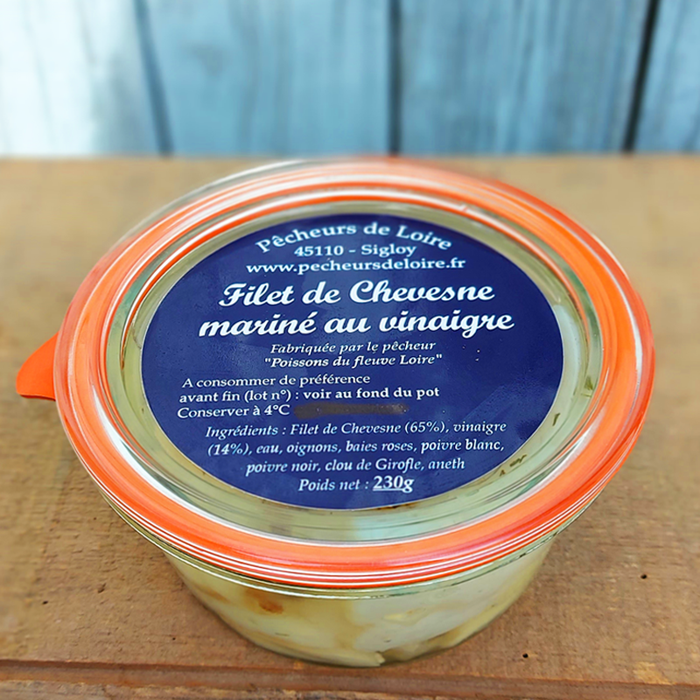 Filet de Chevesne mariné au vinaigre
