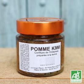 Confiture de Pomme Kiwi bio