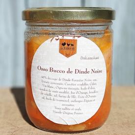 Osso-buco de dinde noire (340g) - La bourgeoise