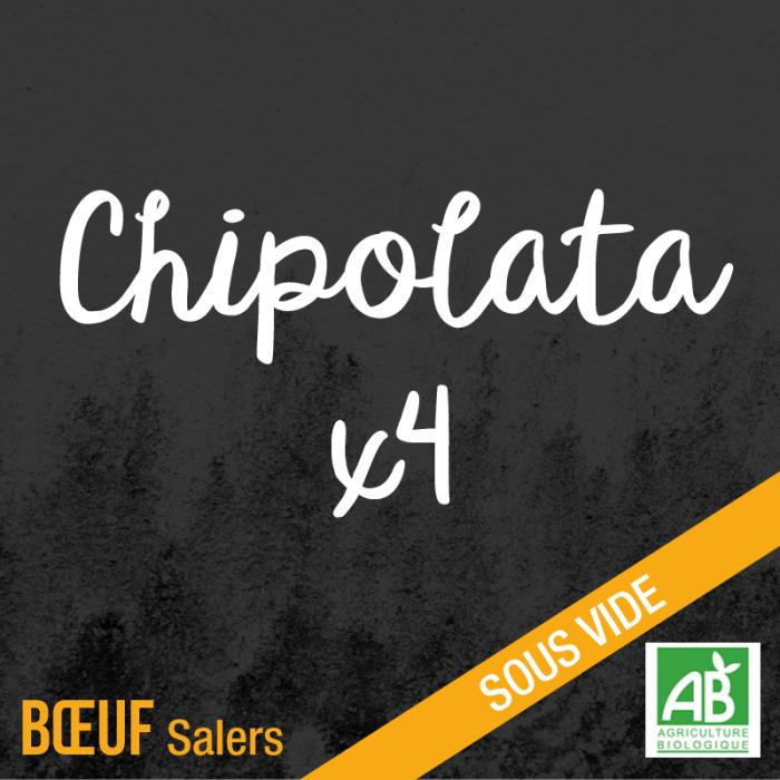 Chipolata - boeuf salers bio