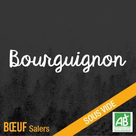 Bourguignon - bœuf salers bio