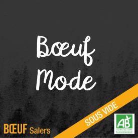 Boeuf mode - bœuf salers bio