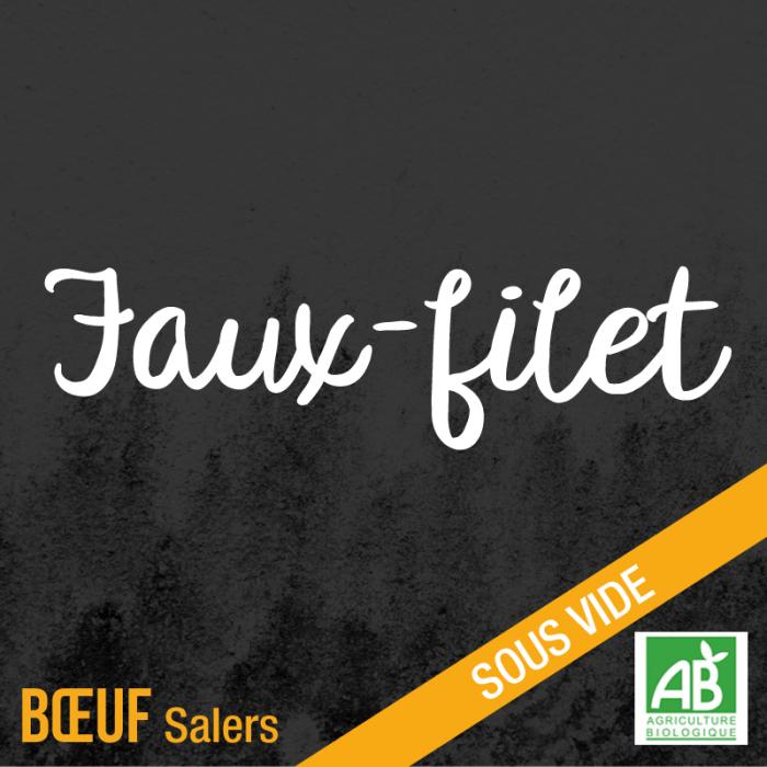 Faux-fliet - Boeuf Salers bio