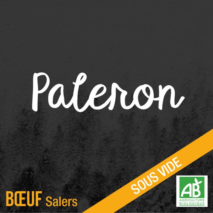 Paleron - Boeuf Salers bio