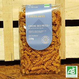 """Pâtes bio - """"Chiche des Pâtes !"""" - Les É-Pâtes-Antes"""