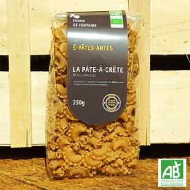 """Pâtes bio - """"La pâte à crête"""" - Les É-Pâtes-Antes (250g)"""