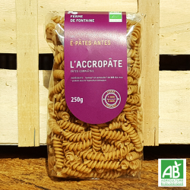 "Pâtes bio - ""L'accropâtes"" - Les É-Pâtes-Antes (250g)"