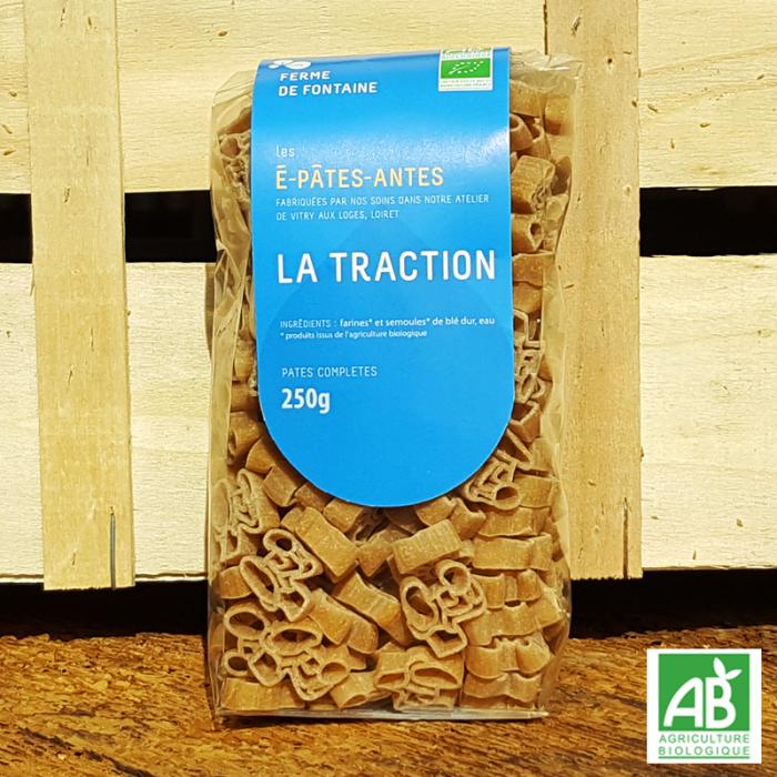 "Pâtes bio - ""La Traction"" - Les É-Pâtes-Antes"