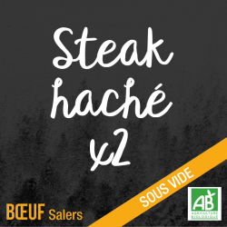 Steak haché - bœuf Salers bio
