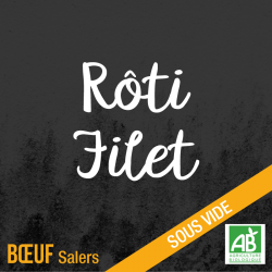 Rôti dans le filet - boeuf salers bio